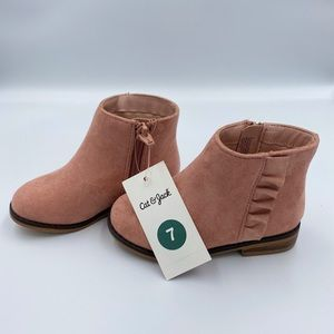 Toddler Unity Cat&Jack suede fashion boots